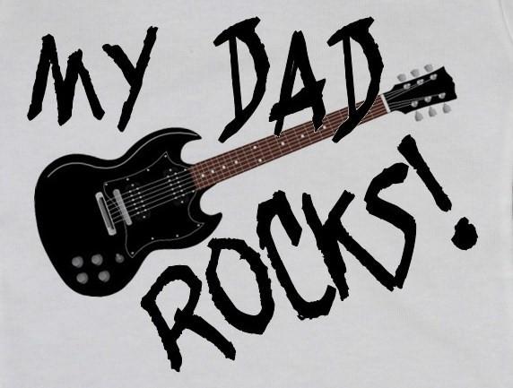 Rockové skladby ku Dňu otcov