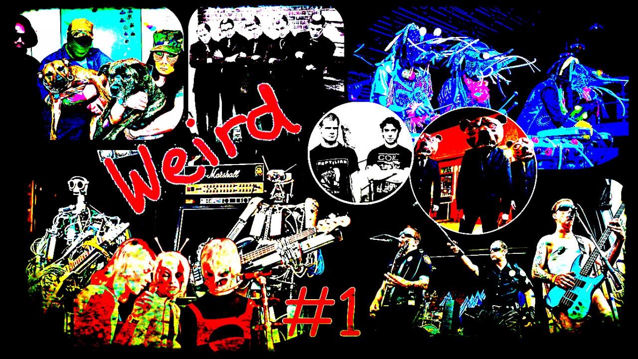 Najbizarnejšie rockové kapely (1. časť)