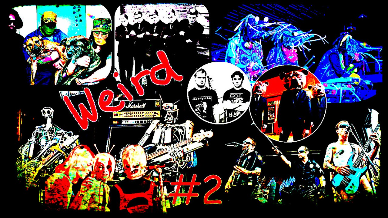 Najbizarnejšie rockové kapely (2. časť)