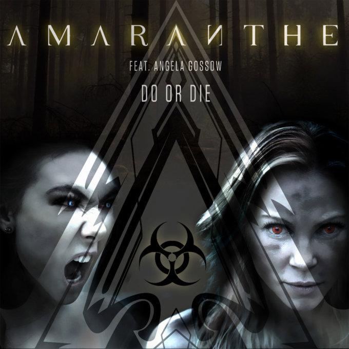 Bývalá speváčka Arch Enemy v piesni Do Or Die od Amaranthe