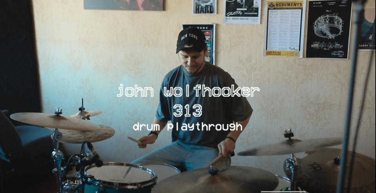 Adrian Janeček z John Wolfhooker a jeho prevedenie skladby 313