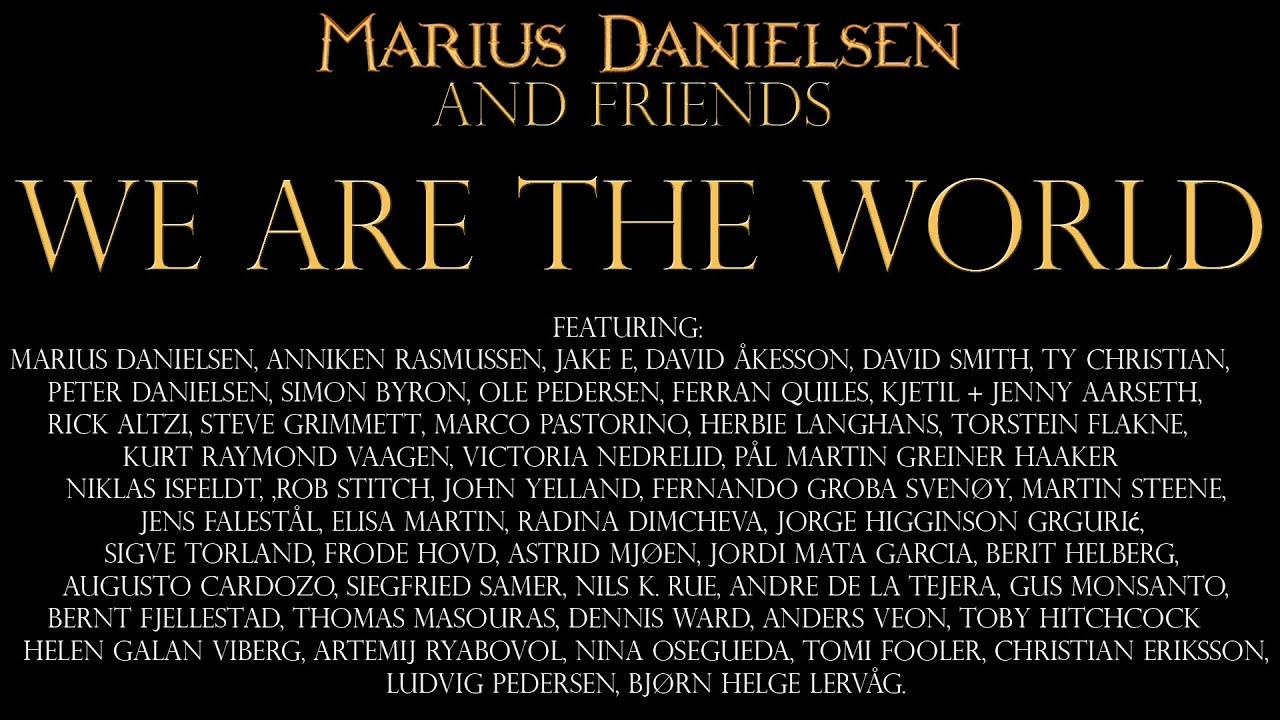 "Epická metalová verzia ""We are the World"""