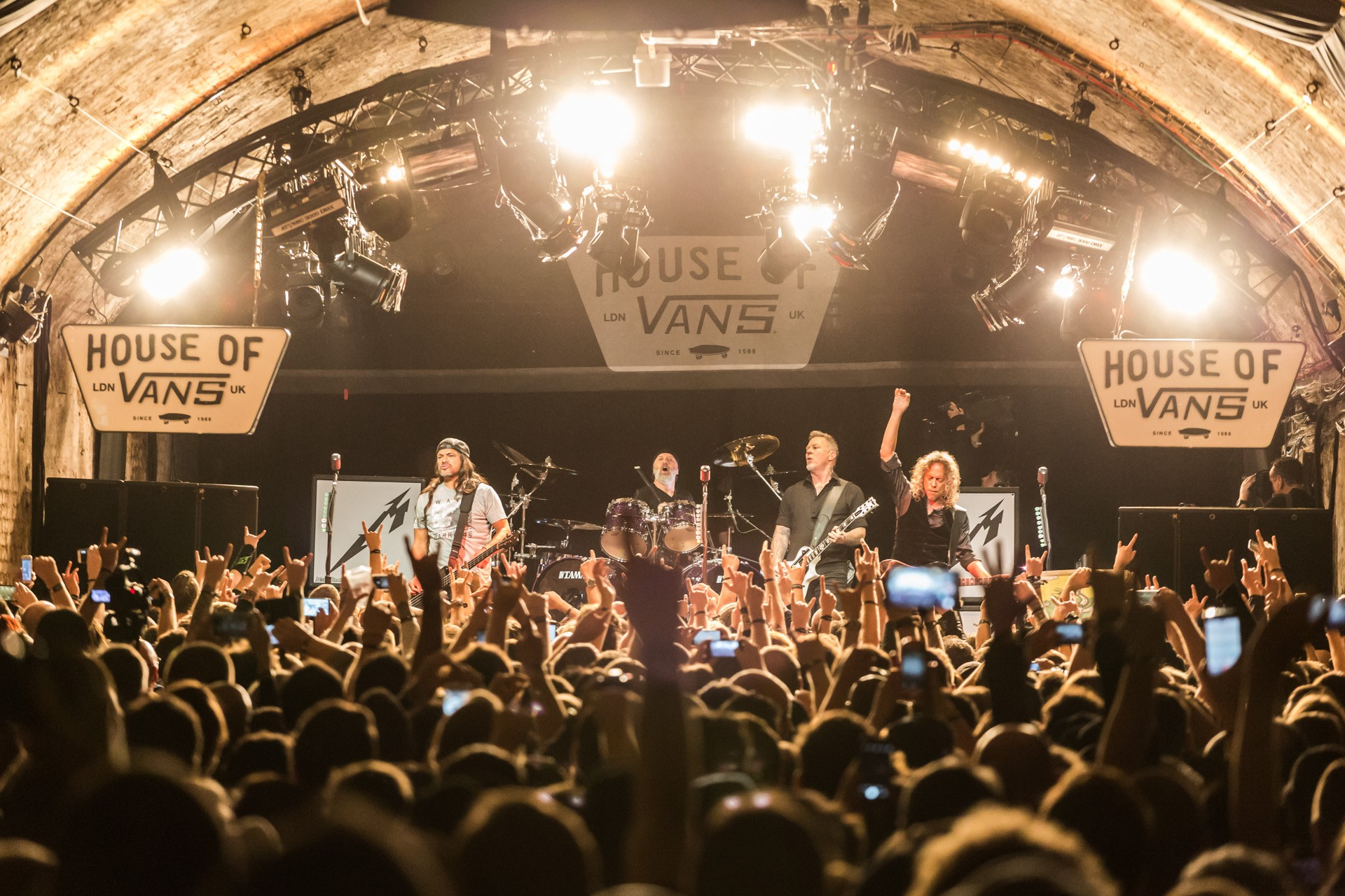 Metallica a ich Live at House of Vans