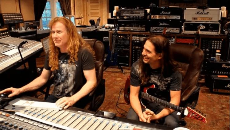 Dave Mustaine začal nahrávať vokály pre nový album