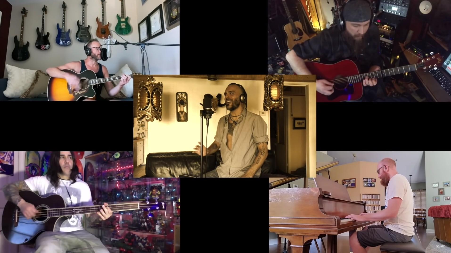 Killswitch Engage a ich akustická verzia skladby We Carry On