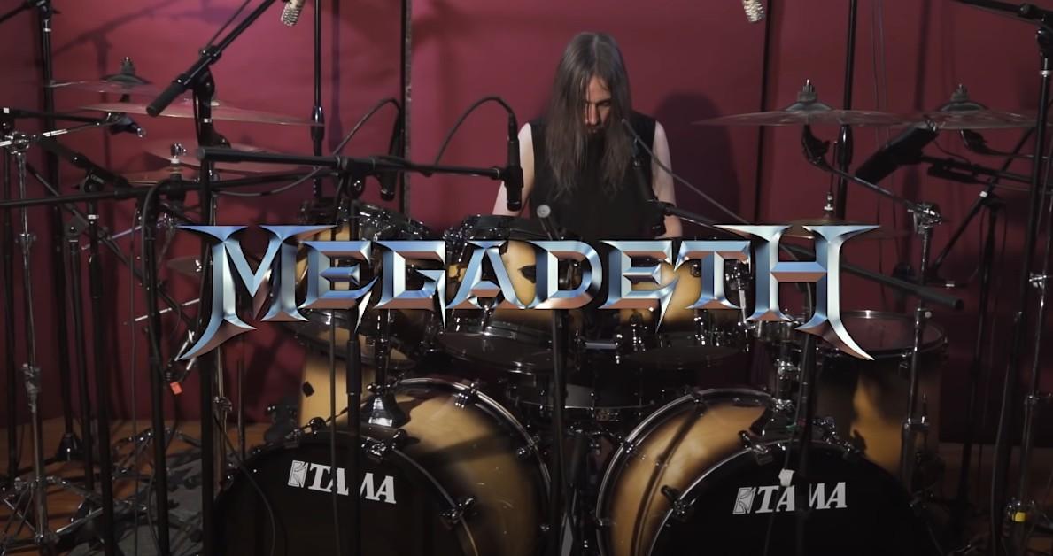 Dirk Verbeuren za bicími so skladbou The Conjuring