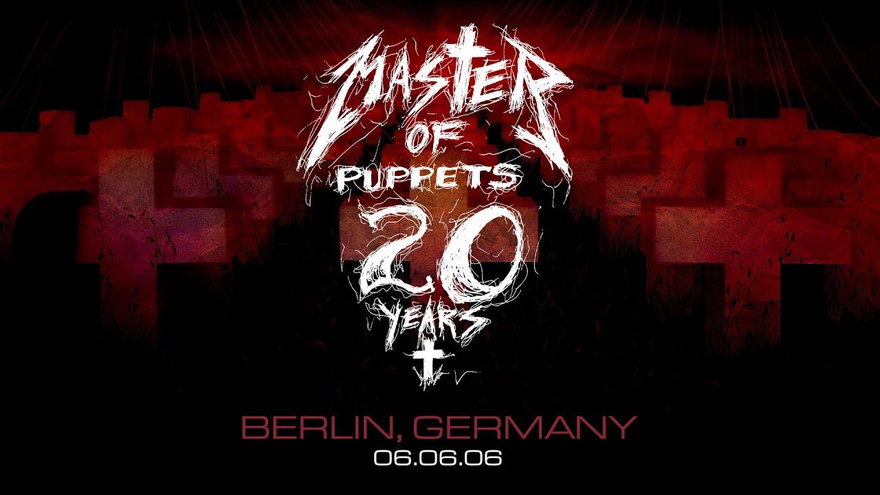 Metallica a ich kompletné prevedenie albumu Master Of Puppets naživo