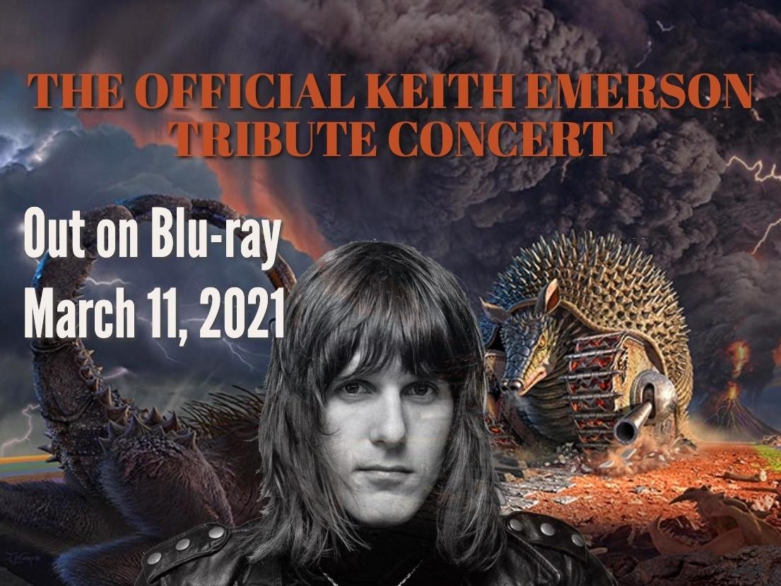 Spomienkový koncert na Keitha Emersona vychádza na Blu-Ray