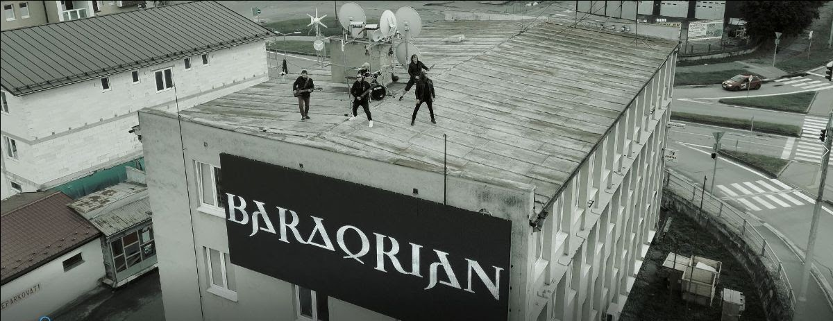 'Nikomu never' je tretím singlom od metalistov Bardorian z kráľovského Bardejova